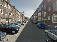 112 melding Ambulance naar Tapuitstraat in Rotterdam