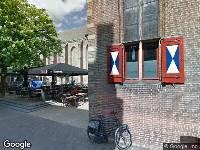 112 melding Brandweer naar Sassenstraat in Zwolle