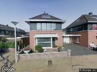 112 melding Brandweer naar Veldbloemlaan in Heerjansdam vanwege een buitenbrand