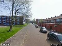 112 melding Brandweer naar Vechtstraat in Den Helder vanwege brand