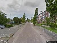 112 melding Brandweer naar Dirk Boutsstraat in Leeuwarden vanwege brand