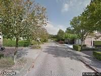 Brandweer naar Dahlia in Dirksland vanwege brand