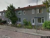 Brandweer naar Adelaarstraat in Dordrecht vanwege brand