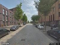Brandweer naar Pieter Oosterhuisstraat in Amsterdam vanwege brand