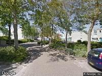 Brandweer naar Prins Clausstraat in Harlingen