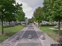 Ambulance naar Steilsteven in Papendrecht