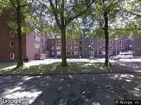 112 melding Ambulance naar Verdiplein in Tilburg