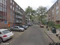 Ambulance naar Spitsbergenstraat in Amsterdam