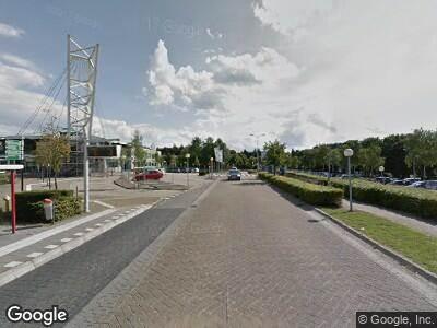 Ambulance naar Weg door Jonkerbos in Nijmegen