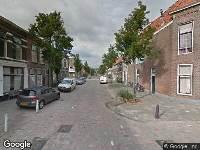 112 melding Ambulance naar Sieboldstraat in Leiden