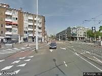 Ambulance naar Admiraal de Ruyterweg in Rotterdam