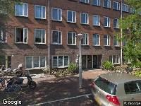 112 melding Besteld ambulance vervoer naar Cabralstraat in Amsterdam