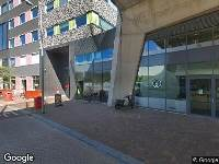 112 melding Brandweer naar Gare du Nord in Amsterdam vanwege brand