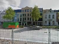 Ambulance naar Spoorlaan in Tilburg