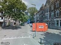 112 melding Ambulance naar Hugo de Grootstraat in Rotterdam
