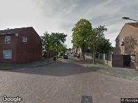 112 melding Brandweer naar Rubensstraat in Venlo
