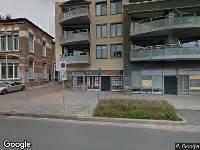 112 melding Brandweer naar Achter de Hoven in Leeuwarden