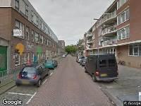 112 melding Brandweer naar Lieve Verschuierstraat in Rotterdam