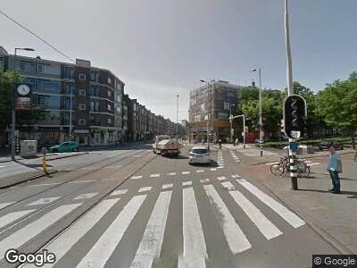 Ambulance naar Jonker Fransstraat in Rotterdam