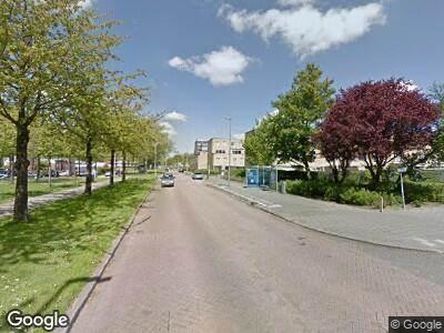 Ambulance naar Michelangelostraat in Rotterdam