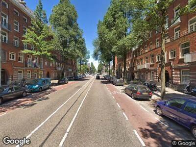 Ambulance naar Haarlemmermeerstraat in Amsterdam