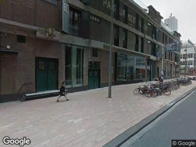Brandweer naar Wilhelminakade in Rotterdam