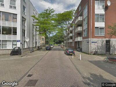 Ambulance naar President Brandstraat in Amsterdam vanwege brand