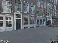 112 melding Traumahelikopter naar Prins Hendrikkade in Amsterdam
