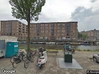 Ambulance naar Van Noordtkade in Amsterdam