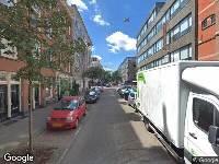 112 melding Ambulance naar Van Ostadestraat in Amsterdam