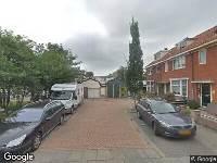 112 melding Ambulance naar Tuinstraat in Zaandam