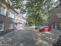 112 melding Brandweer en politie naar Agnietenstraat in Arnhem vanwege brand