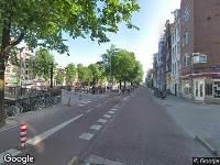 112 melding Ambulance naar Geldersekade in Amsterdam