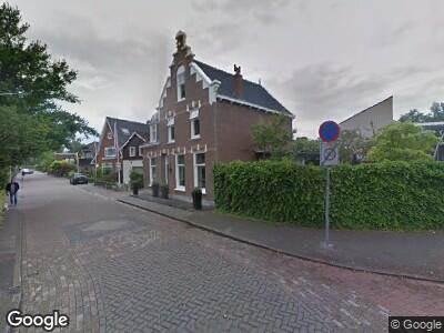 Ambulance naar Weegje in 's-Gravendeel