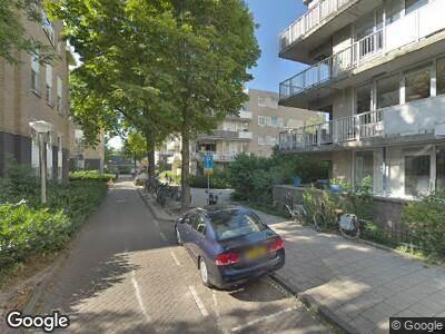 Brandweer naar Jeltje de Bosch Kemperpad in Amsterdam