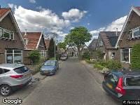 Ambulance naar Van Zeggelaarstraat in Amsterdam