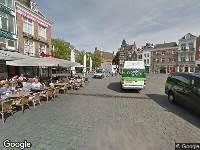 112 melding Ambulance naar Markt in 's-Hertogenbosch