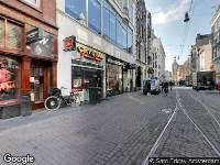 112 melding Ambulance naar Leidsestraat in Amsterdam