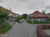 112 melding Brandweer naar Dronrijperstraat in Leeuwarden