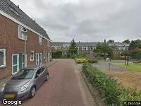 112 melding Brandweer naar Willem Bartjenshof in Amsterdam