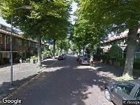 112 melding Brandweer naar Damsigtstraat in Voorburg vanwege gebouwbrand