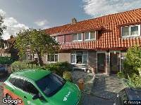 Brandweer naar Burgemeester Bletzstraat in Amsterdam