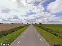 Ambulance naar Philipshoofjesweg in Dirksland
