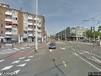 112 melding Ambulance naar Admiraal de Ruyterweg in Rotterdam