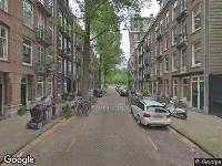 112 melding Ambulance naar Graaf Florisstraat in Amsterdam
