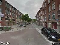 112 melding Ambulance naar Aleidisstraat in Rotterdam