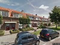 Ambulance naar Van Vlietstraat in Nieuw-Lekkerland