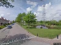 Ambulance naar Ooievaar in Nieuw-Lekkerland