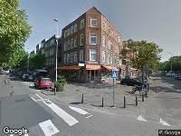 112 melding Ambulance naar Nieuwe Crooswijkseweg in Rotterdam