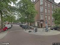 112 melding Brandweer naar Retiefstraat in Amsterdam